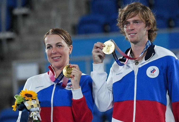 A. Pavliučenkova ir A. Rubliovas. (nuotr. SCANPIX)