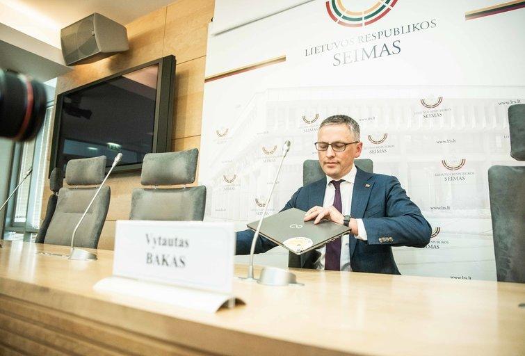 Vytautas Bakas Fotodiena/Arnas Strumila