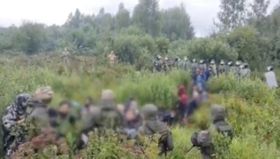 12 Baltarusijos pareigūnų peržengė Lietuvos sieną, stiprinamos pajėgos pasienyje