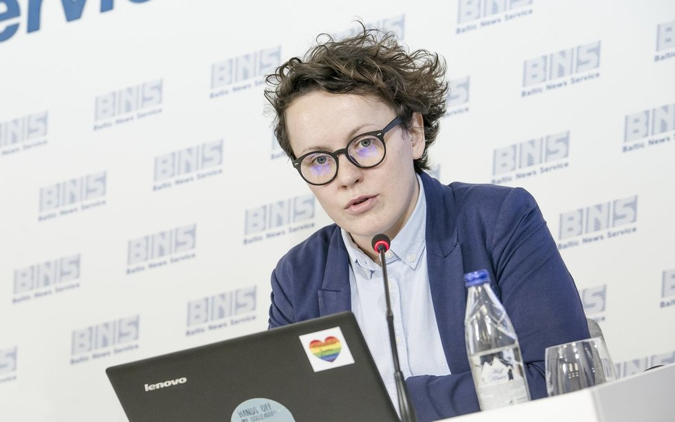 Lietuvos žmogaus teisių centro komunikacijos vadovė Jūratė Juškaitė (nuotr. Dainius Putinas)