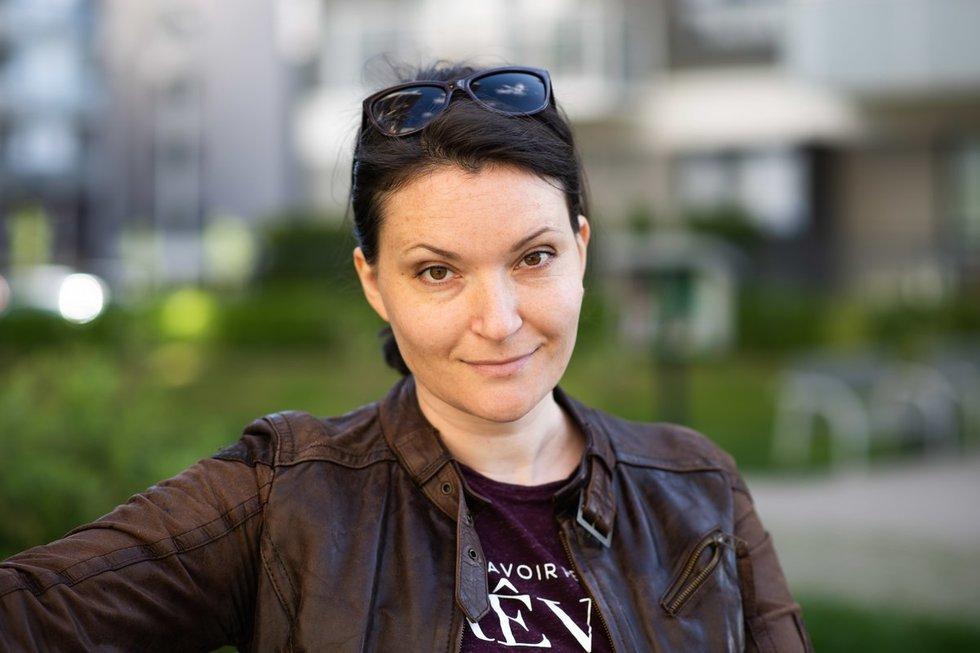 Marija Bunkaitė. Fotodiena/Justinas Auškelis