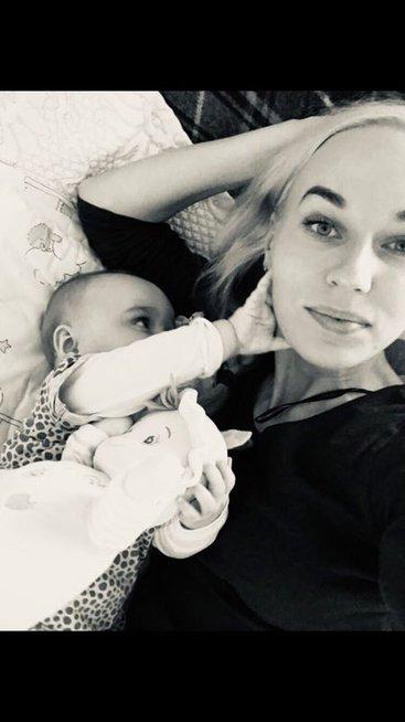Birutė Navickaitė su dukra