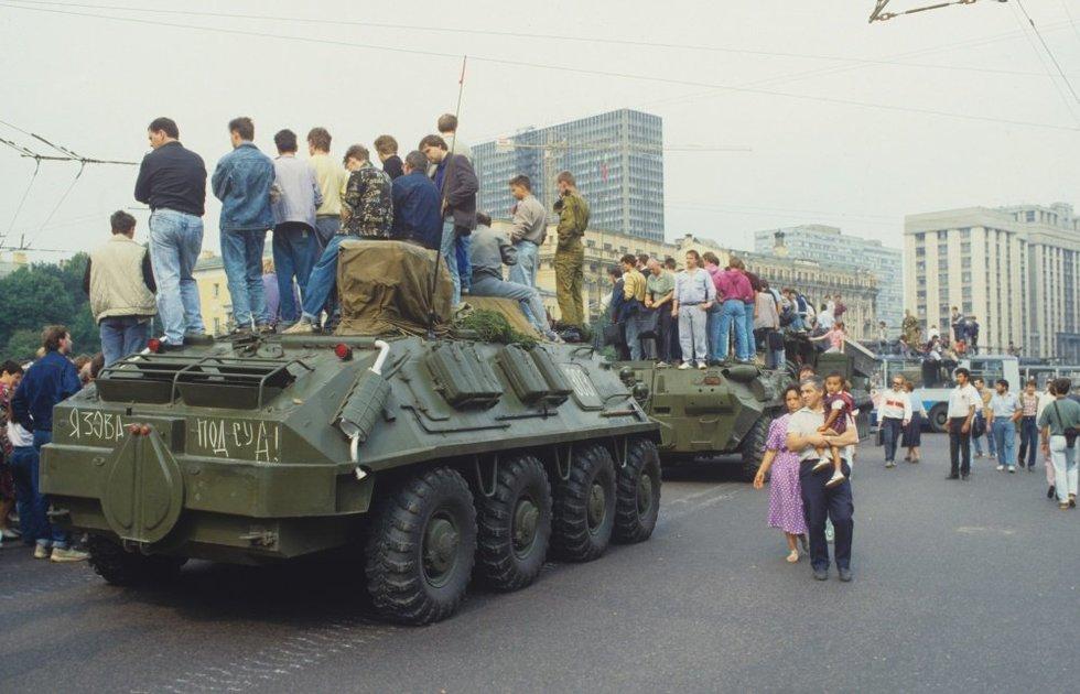 Rusijoje blėsta prisiminimai apie 1991-ųjų pučą