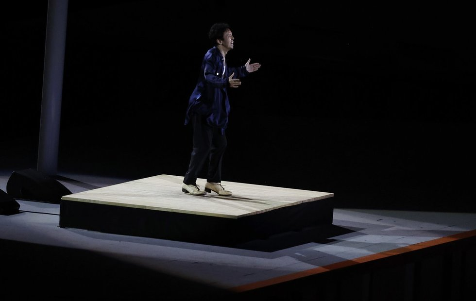 Tokijo olimpinių žaidynių atidarymo ceremonija