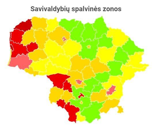 Statistikos departamento duomenys