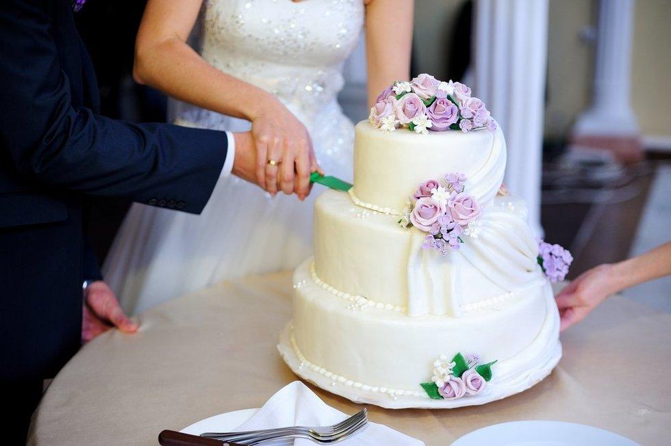 Vestuvinis tortas (Nuotr. shutterstock.com)