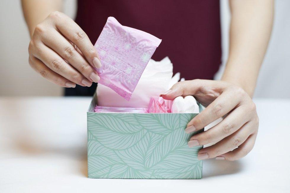 Moterų higienos prekės
