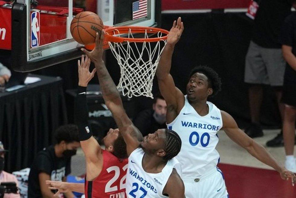 Įspūdingas NBA Vasaros lygos vakaras – net du dvigubi pratęsimai su įdomia taisykle (nuotr. SCANPIX)