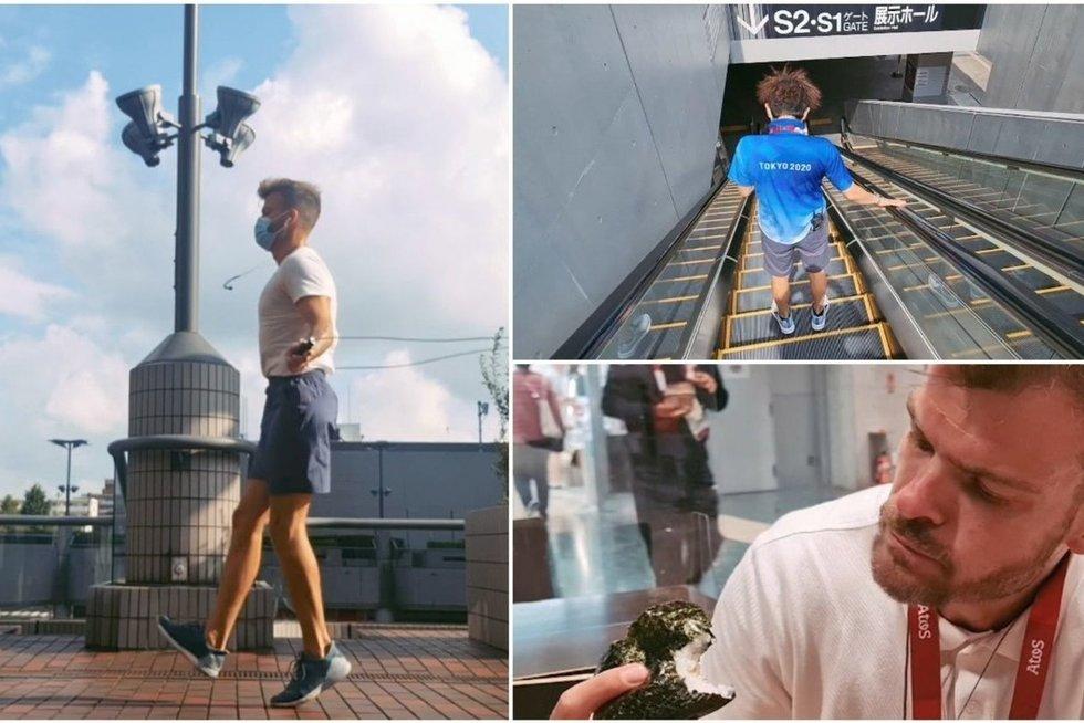 Rainio įspūdžiai iš Tokijo: įspūdingo dydžio arena ir optimistiškai nuteikiantis dalykas