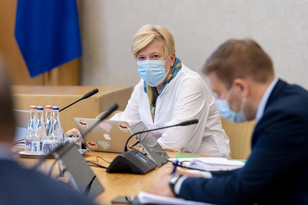Ingrida Šimonytė (nuotr. LRVK | Laima Penek)