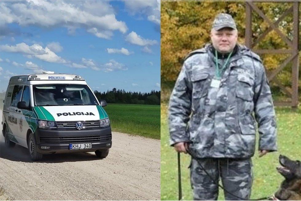 Mažeikių rajone nušautas 40 metų pareigūnas S. Žymantas  (tv3.lt fotomontažas)