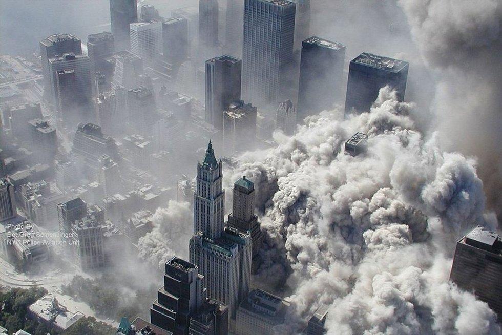 2001/09/11: prisimenant siaubingiausią teroro išpuolį (nuotr. SCANPIX)