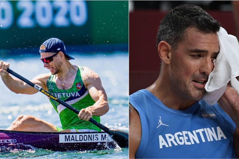 """Olimpinė laida """"Misija Tokijas"""" – nepamelavęs antras Maldonio bandymas ir ovacijomis išlydėtas Scola (tv3.lt koliažas)"""