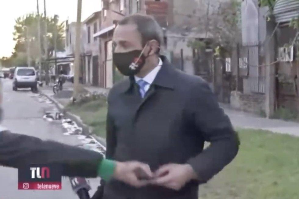 Reporteris (nuotr. stop kadras)