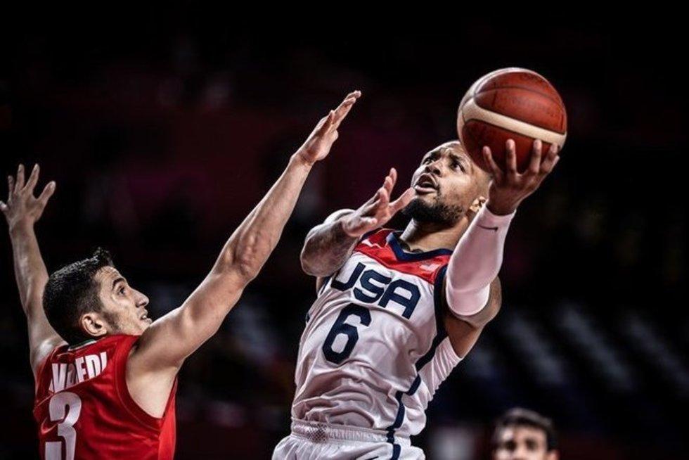 D. Lillardas. (nuotr. FIBA)