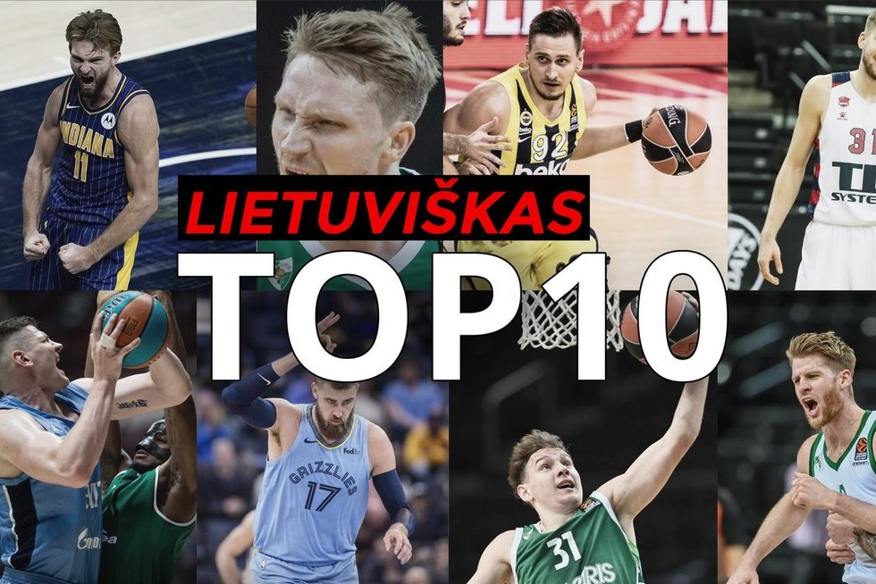 """Pirmasis """"Lietuviškasis TOP-10"""": įspūdingi Sabonio epizodai ir Grigonio skrydis Vitorijoje"""