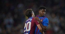 """Užtikrintą pergalę įsirašiusi """"Barcelona"""" artėja prie lyderių Ispanijos čempionate"""