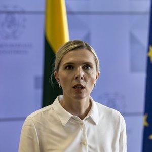 Agnė Bilotaitė: Baltarusijos režimas ieško naujų būdų ir priemonių, kaip dar labiau spausti