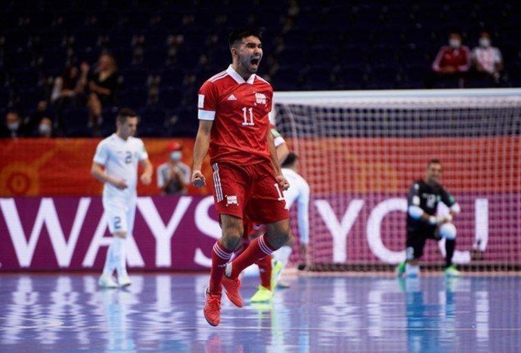 Pasaulio salės futbolo čempionato septinta diena: sudužusi šeimininkų svajonė ir kovos dėl trečiųjų vietų. (nuotr. LFF.lt)