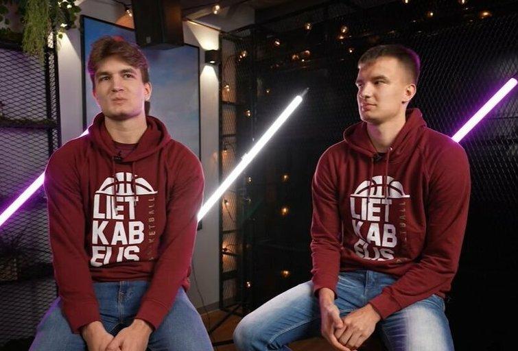 Karolis ir Dovydas Giedraičiai. (nuotr. YouTube)