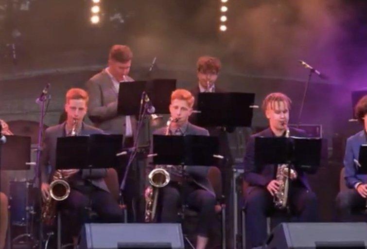 """Pasvalio muzikos mokyklos """"Small Big-Band"""""""