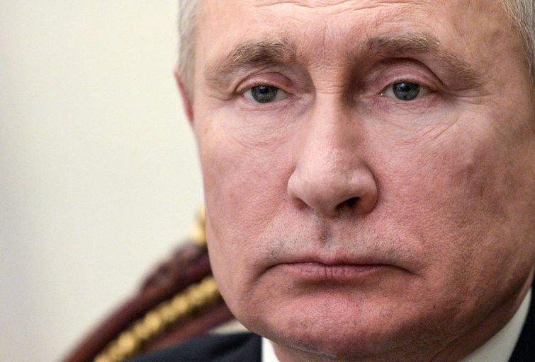 V. Putinas (nuotr. SCANPIX) tv3.lt fotomontažas