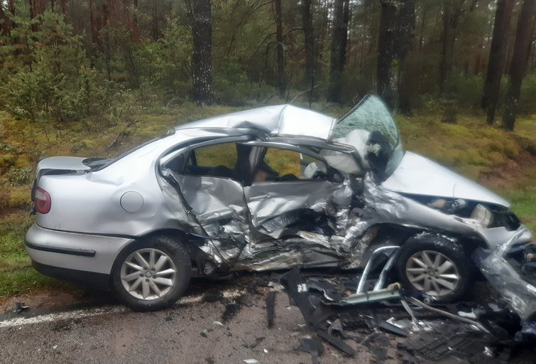 Tragiška avarija Varėnos rajone – žuvo žmogus
