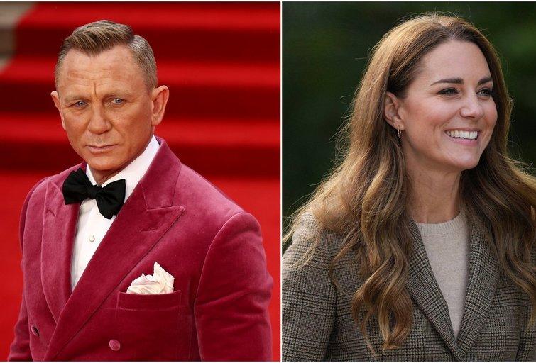 Danielis Craigas ir Kate Middleton (nuotr. SCANPIX) tv3.lt fotomontažas