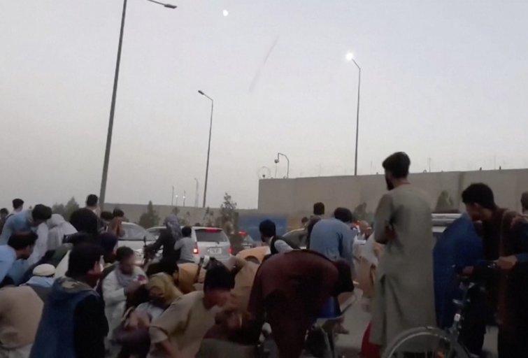 Afganistane toliau aidi šūviai: Talibanas pradeda susidorojimą su NATO ir JAV talkinusiais vietiniais (nuotr. stop kadras)