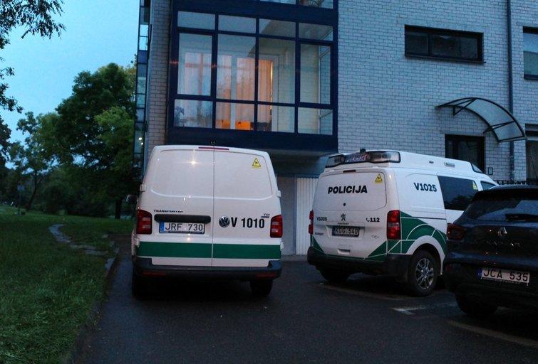 Vilniuje rastas jaunuolio kūnas su šautine žaizda galvoje (nuotr. TV3)