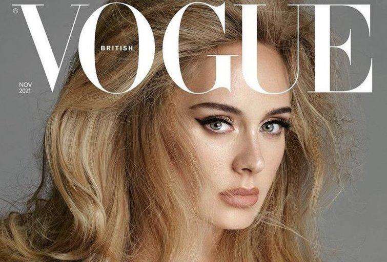 "Adele ant žurnalo ""Vogue"" viršelio (nuotr. Vida Press)"