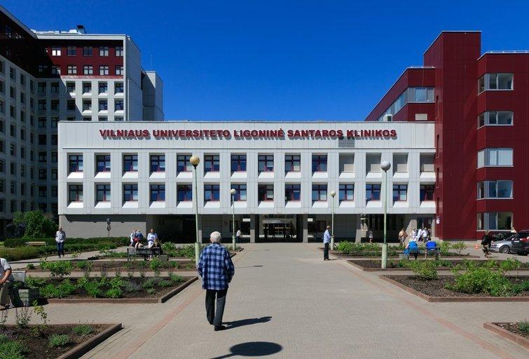 Vilniaus universiteto ligoninės Santaros klinikos (nuotr. Tv3.lt/Ruslano Kondratjevo)