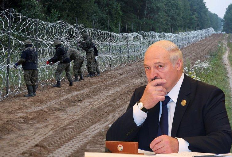 Baltarusija jau prabilo apie norą derėtis dėl migrantų (nuotr. SCANPIX) tv3.lt fotomontažas