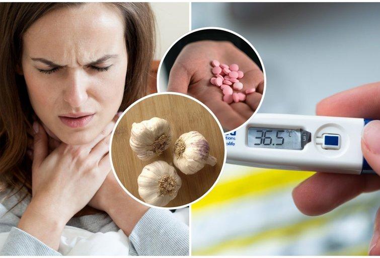 Neskubėkite griebtis vaistų stiprinant imunitetą: išdavė geriausias namines priemones (nuotr. tv3.lt)