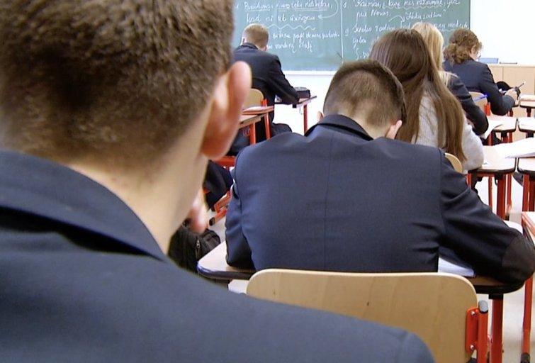 Mokiniai (nuotr. stop kadras)