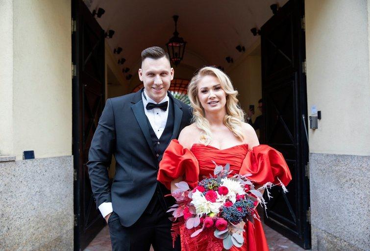 Natalijos Bunkės ir jos mylimojo Edgaro Eidėjaus vestuvės (Fotobankas)