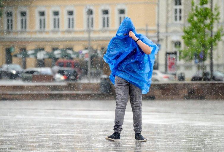 Lietus (Fotodiena/ Viltė Domkutė)