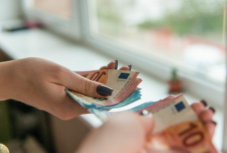 Pareiginės algos bazinis dydis didinamas iki 181 euro (K. Polubinska/fotodiena.lt nuotr.)