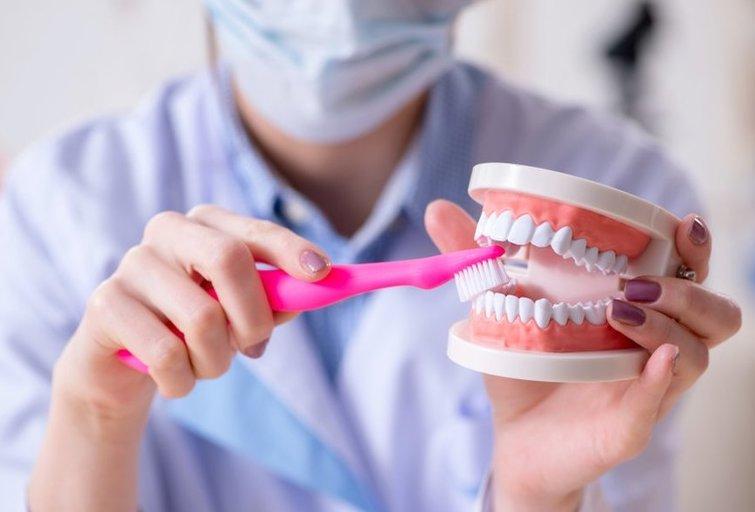 Dantų priežiūra (nuotr. Shutterstock.com)