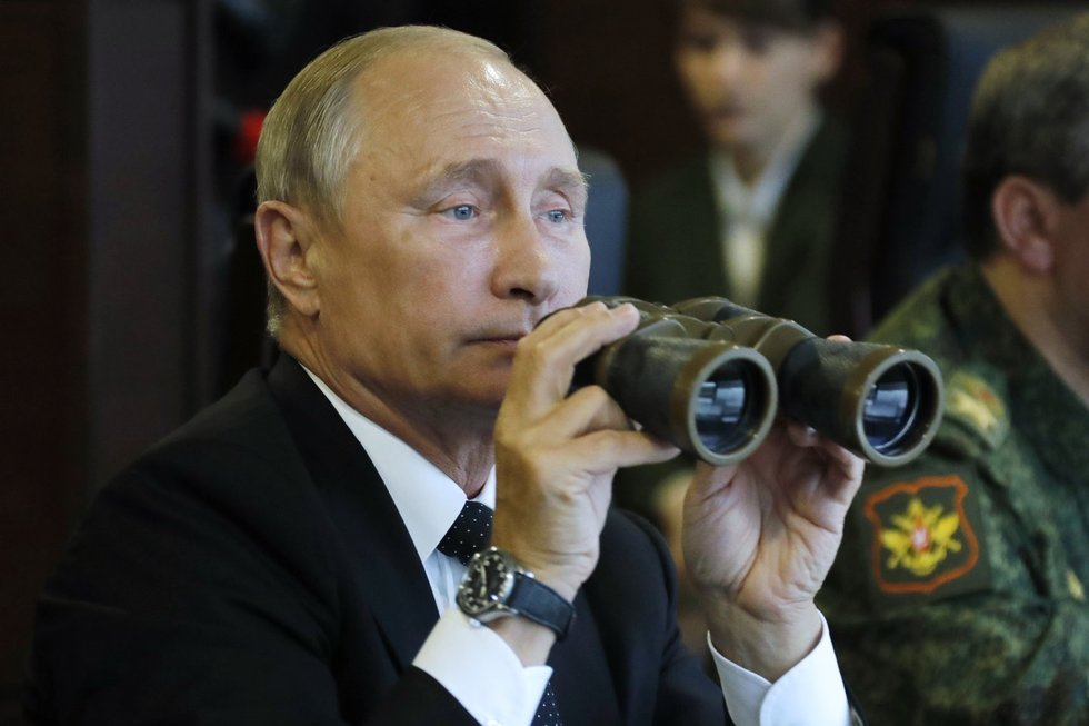 Vladimiras Putinas, Zapad 2017