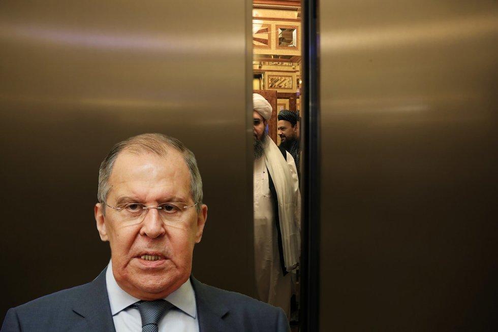 Iššūkis Rusijai: amerikiečių pasitraukimas kelia Kremliui nemalonius prisiminimus