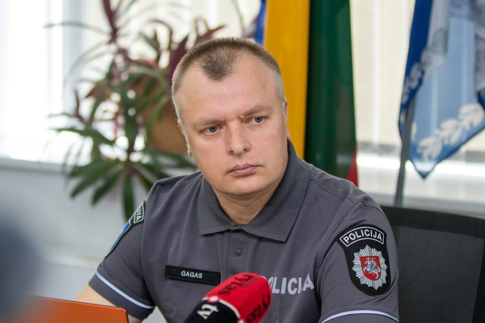 Vilniaus apskrities policijos viršininkas Saulius Gagas