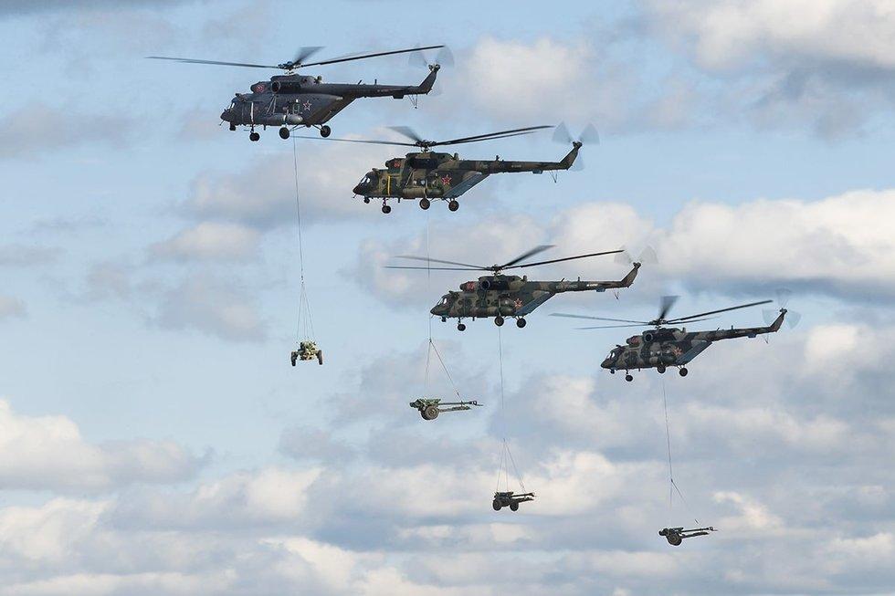 Rusijos kariniai mokymai