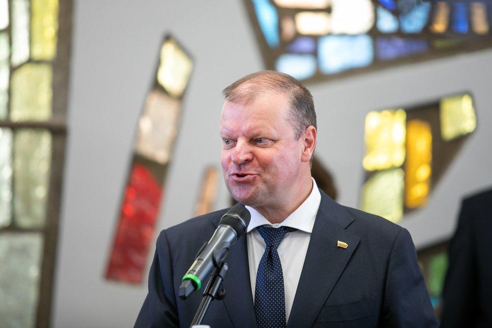 """Atsiskyrę S. Skvernelio rėmėjai susibūrė į naują frakciją """"Vardan Lietuvos"""""""