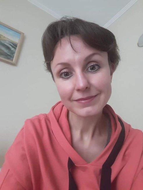 39-erių metų trijų vaikų mama Kristina