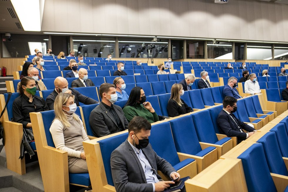 Sporto ateities forumo konferencija.
