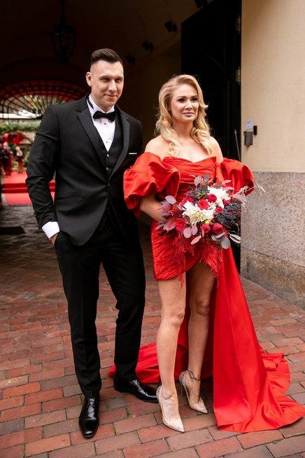 Natalijos Bunkės ir jos mylimojo Edgaro Eidėjaus vestuvės