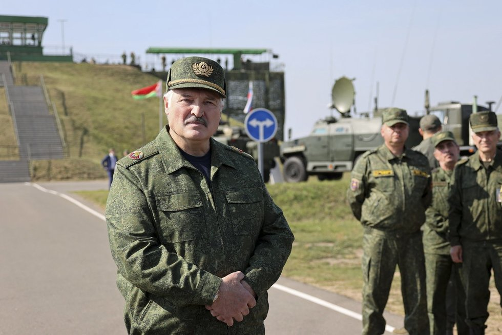 Aleksandras Lukašenka, Zapad 2021