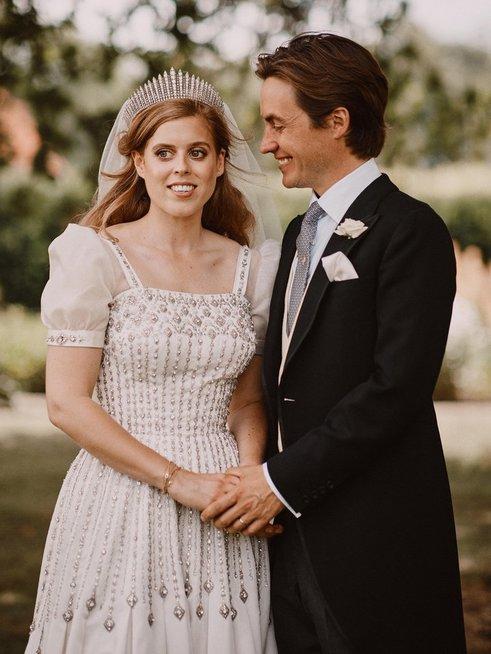 Princesė Beatrice su vyru
