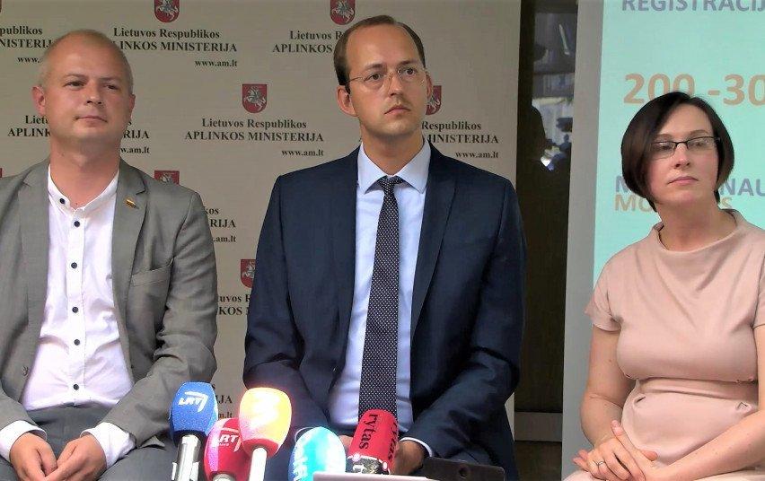 Simonas Gentvilas, Marius Skuodis, Gintarė Krušnienė
